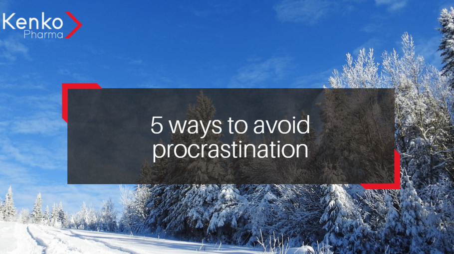 5 ways to avoid procrastination