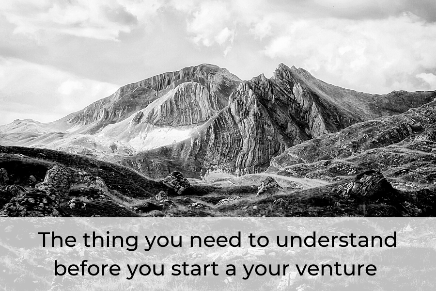 The thing you need to understand before you start a your venture.
