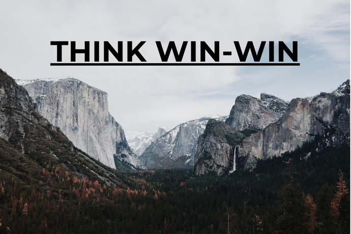The 7 Habits of Highly Effective People - [4] THINK WIN-WIN