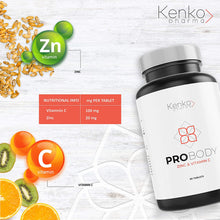 Charger l'image dans la galerie, Zinc and Vitamin C - Support Against viruses and bacteria