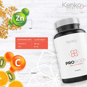 Zinc and Vitamin C - Support Against viruses and bacteria
