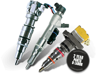 FORD STOCK REPLACEMENT<br> OEM 7.3L & 6.0L HEUI 6.4L CRE INJECTORS