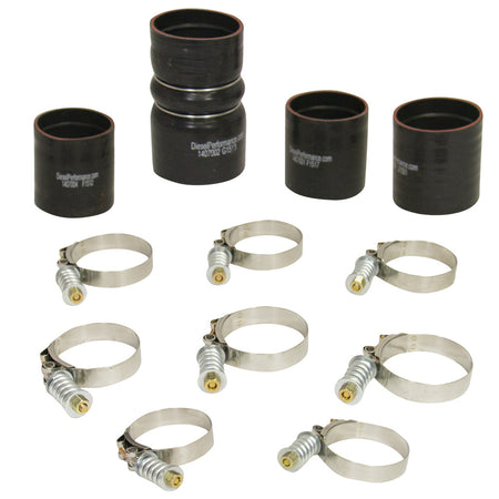 6.4L Powerstroke Intercooler Hose & Clamp Kit Ford 2008-2010
