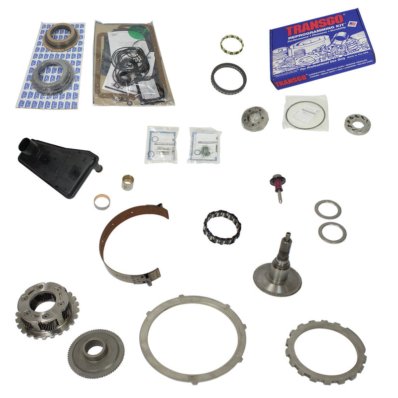 Build-It Ford E4OD Trans Kit 1995-1997 Stage 4 Master Rebuild Kit 4wd