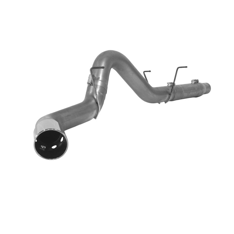 Aluminized Exhaust Kit 2007-2009 6.7L 2500/3500 pickups 5-inch DPF back single tailpipe Comes with polished vented tip