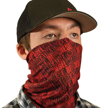 Multifunctional Gaiter - BD Diesel Red