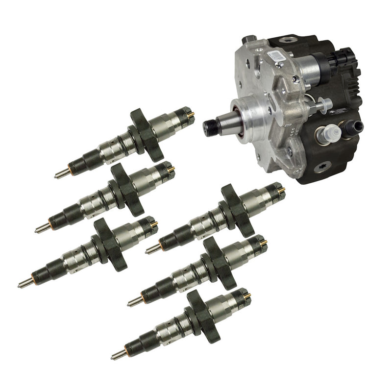5.9L Cummins Performance CR Pump & Injectors Package - Dodge 2004.5-2007