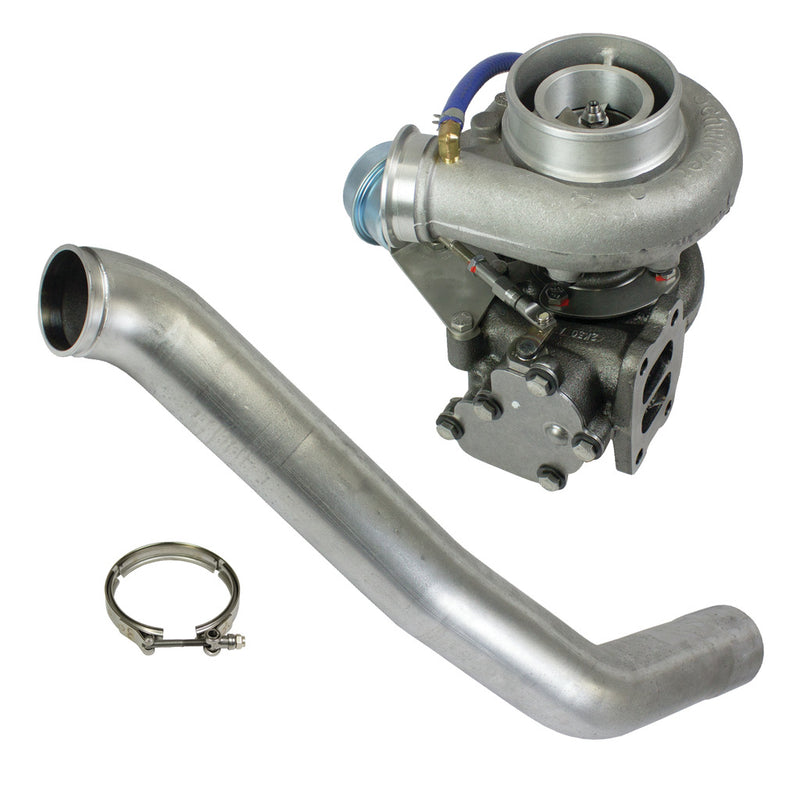 Super B Single SX S358 Turbo Kit w/FMW Billet Wheel Dodge 1994-2002 5.9L