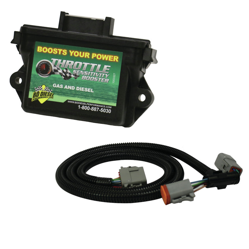 Throttle Sensitivity Booster - Dodge 1998.5-2003 5.9L Manual Trans