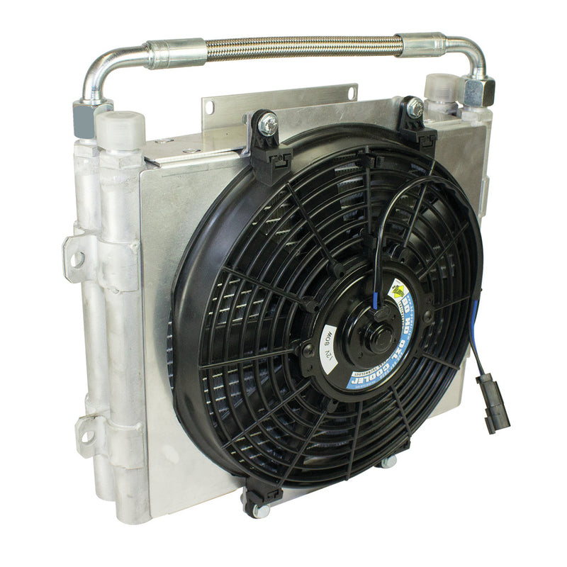 Xtrude Trans Cooler - Double Stacked (No Install Kit)