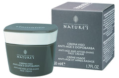 NATURE'S HEMATITE CREMA VISO ANTI AGE DOPOBARBA  50 ml