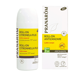 AROMAPIC BIO ROLL-ON LATTE CORPO ANTIZANZARE 75 ml