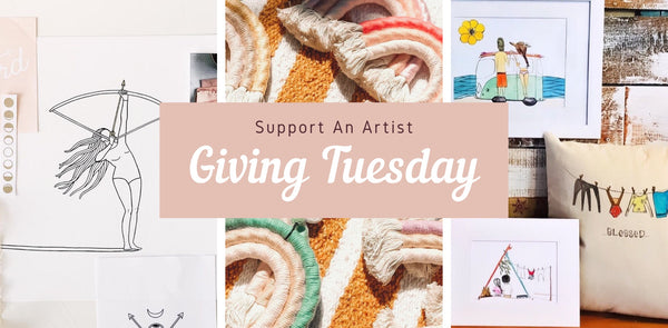 Giving Tuesday - Supporting amazing female artists and creatives
