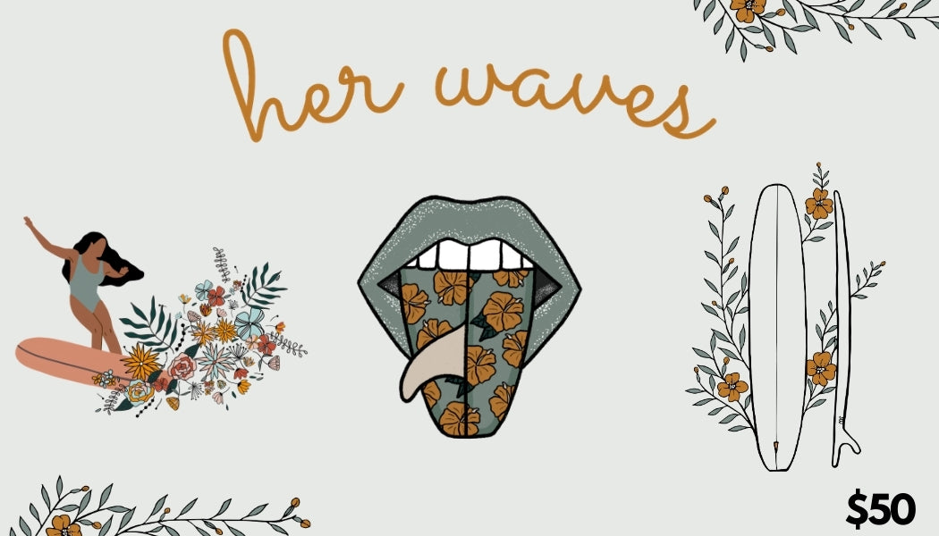 her waves gift card