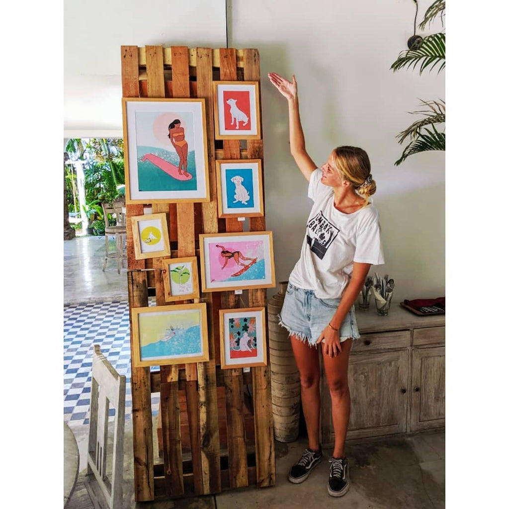 Her Waves interview surf artist juliette