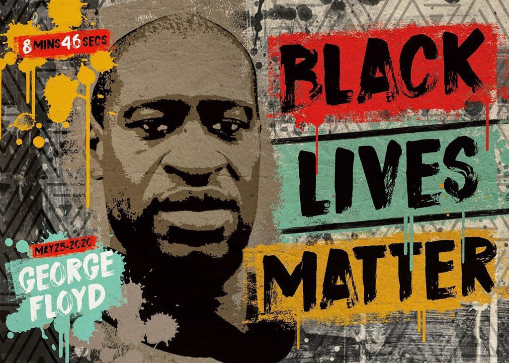 Pepä Ivanoff black lives matter art