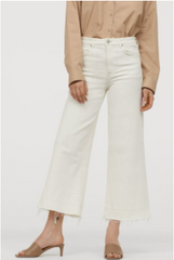 Levi white stretch jeans