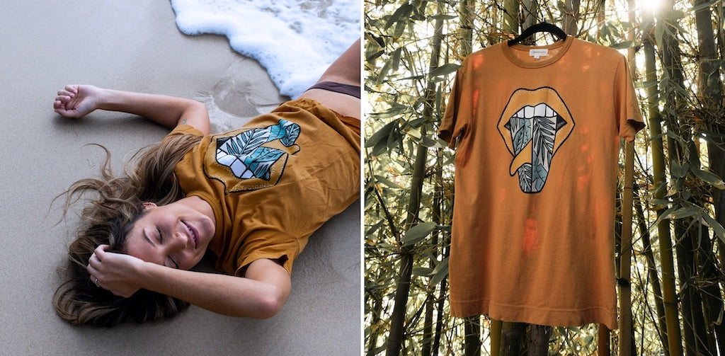 surf tee for women