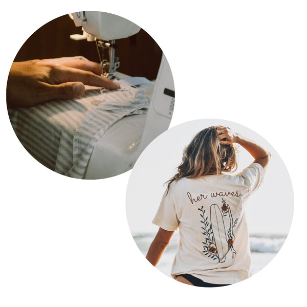 her waves sustainable surf brand