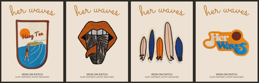 her waves surf patches