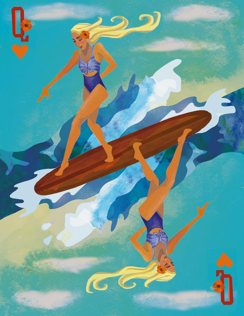 Surf Queen by Jamie Nicole Her Waves