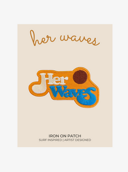 cool surf patch her waves