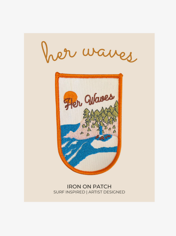 coolest surf patch her waves