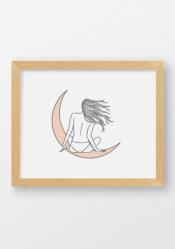 Her Waves Meg Jacovino Heal Me Art Print