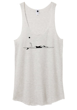 Her Waves Longboard surf tank top