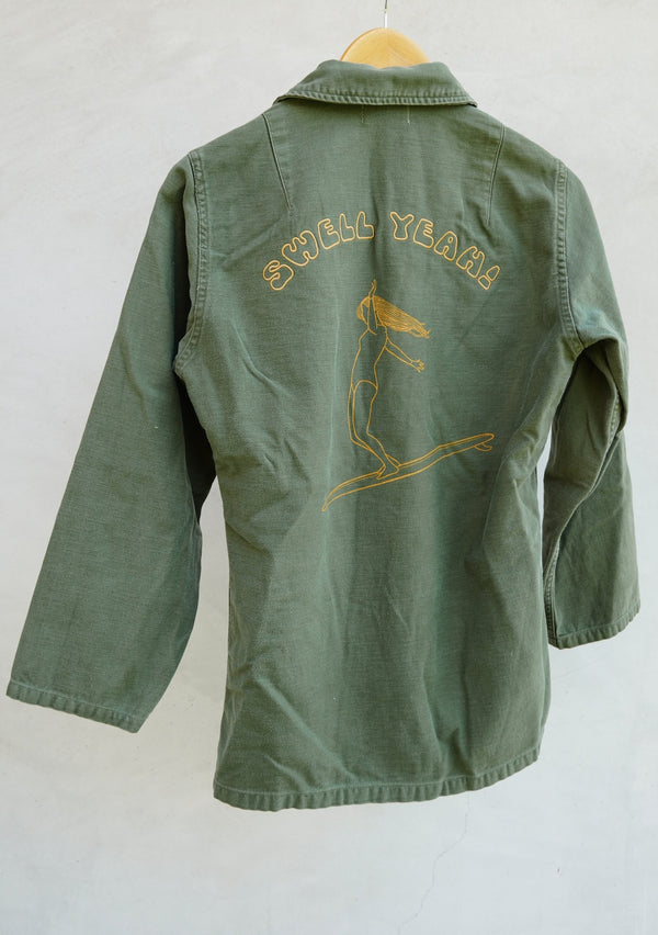 vintage army jacket surf fashion