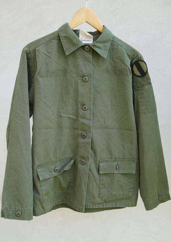 Swell Yeah Vintage Army Ripstop Jacket (medium)
