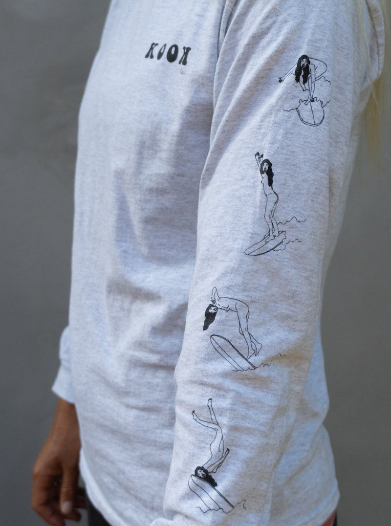 Kook Long Sleeve Tee by Out of the