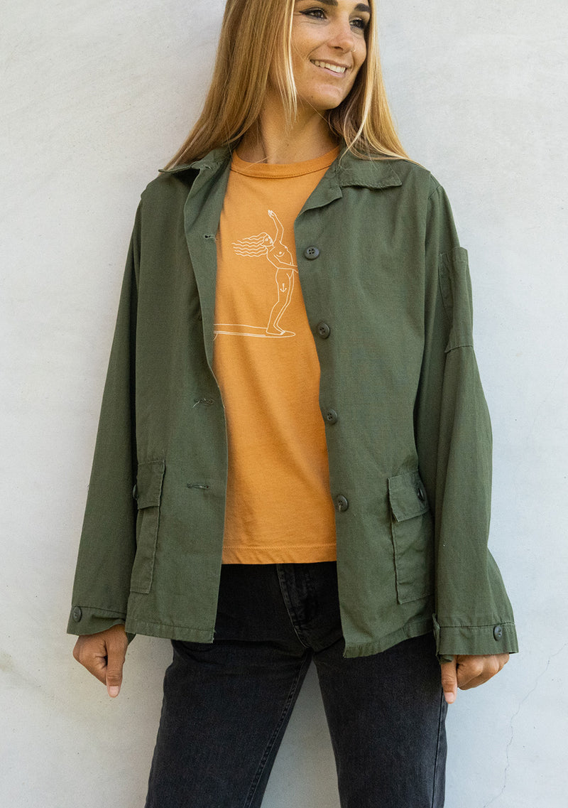 Swell Yeah Vintage Army Ripstop Jacket