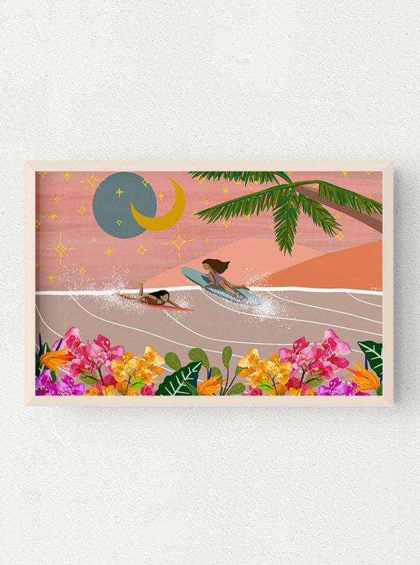 michi pichel surf art