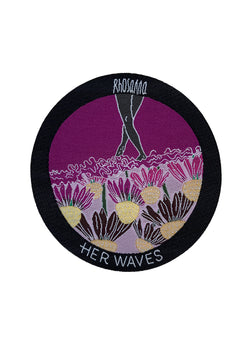 Her Waves dreamer surf patch