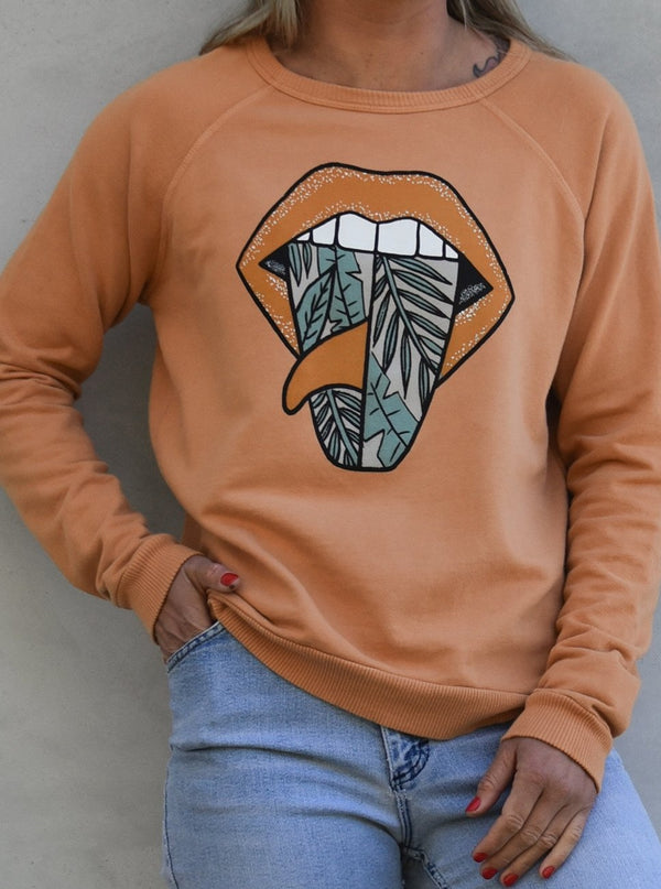 Rolling Single Jungle Pullover Sweatshirt