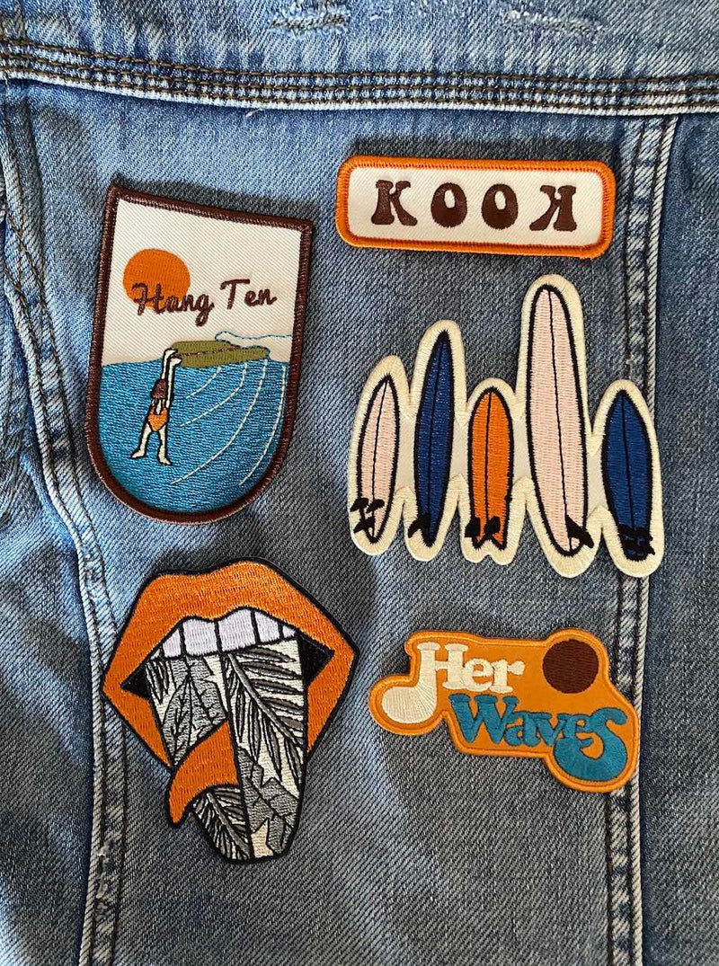 cool surf patches
