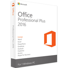 Microsoft Office 2016 Professional Plus | RETAIL | 1PC | VOLLVERSION | EXPRESS VERSAND - A.y.C Software Solutions
