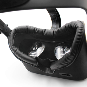 Leather Cushion Face Pads Eye Foam Pad Cover for Oculus Rift S VR Headset