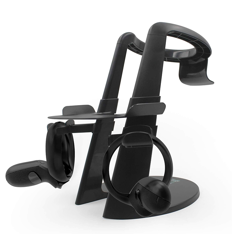 VR Stand, Virtual Reality Headset and Controllers Holder for Oculus Quest/Rift S/Rift CV1