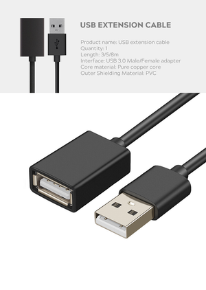 Extension Cable for HP/DELL/Acer MR includes HDMI+USB