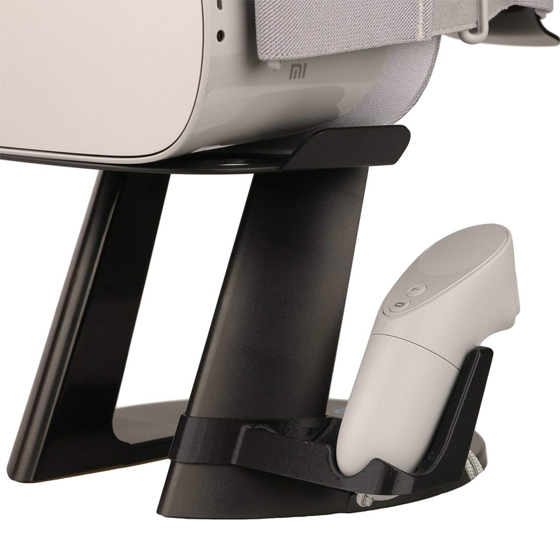 VR Stand, Virtual Reality Headset and Controllers Holder for Oculus Go (Stand Only)