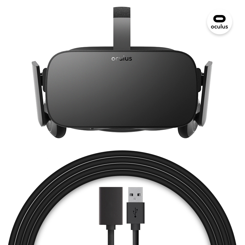 Extension Cable for Oculus Rift/Rift S includes DP/HDMI+USB