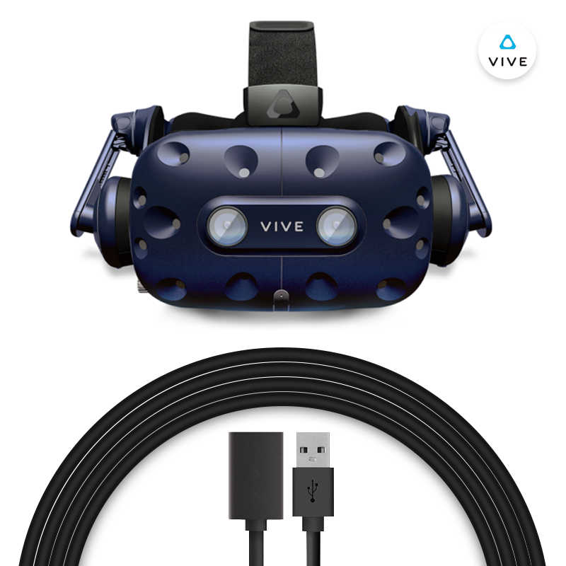 Extension Cable for HTC VIVE/VIVE Pro includes DP/HDMI+USB+DC