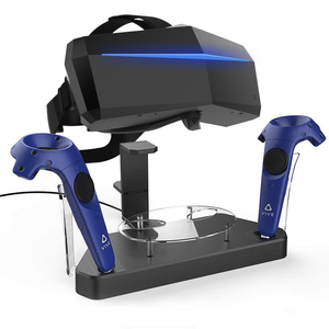 Dual Charger Charging Station/Stand for PIMAX 5K+/8K/8K+/8KX Headset and VIVE Controllers
