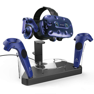 Dual Charger Charging Station/Stand for HTC VIVE/VIVE Pro Headset and Controllers
