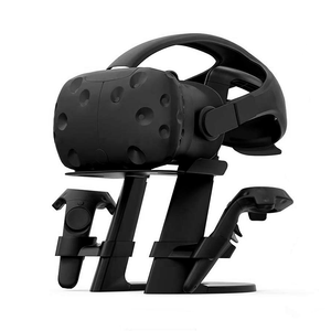 VR Stand, Virtual Reality Headset and Controllers Holder for HTC VIVE/VIVE Pro (Stand Only)