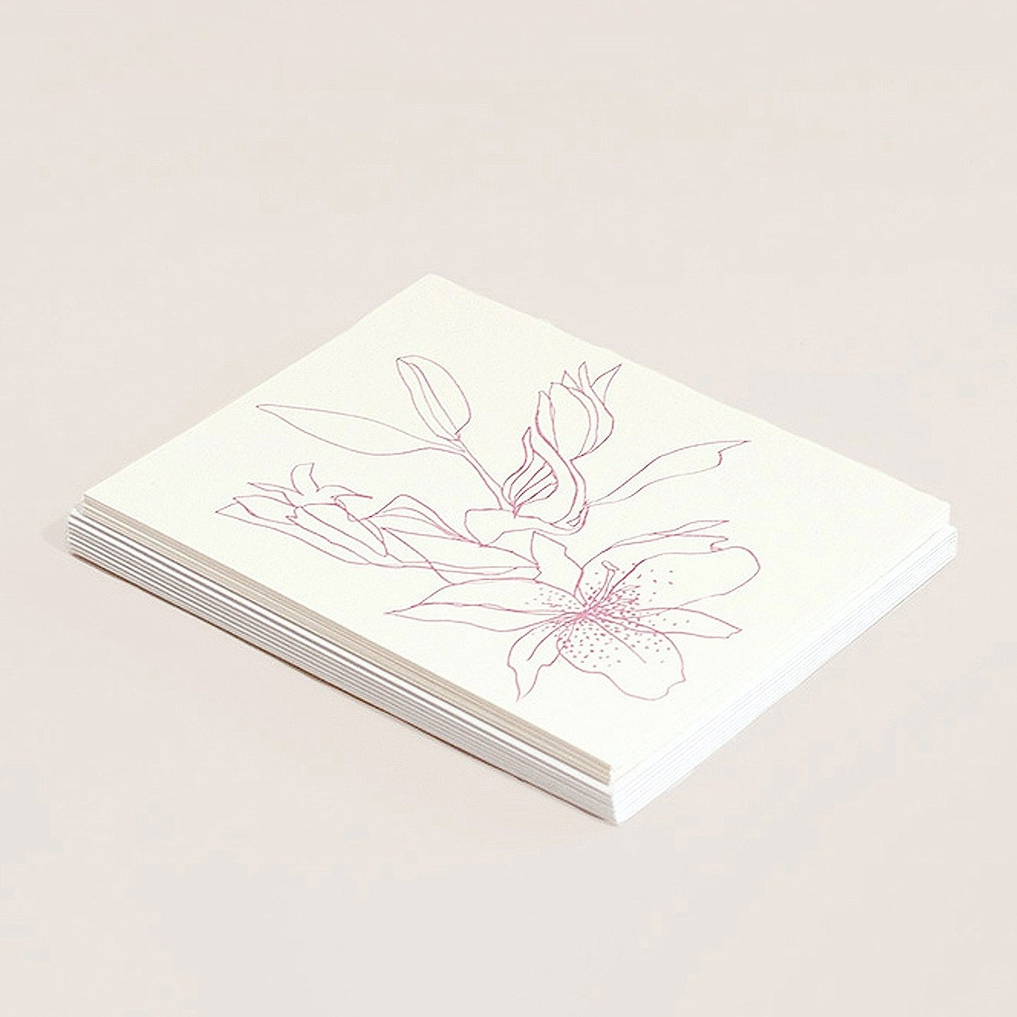 boxed set, stationery, cards, floral.