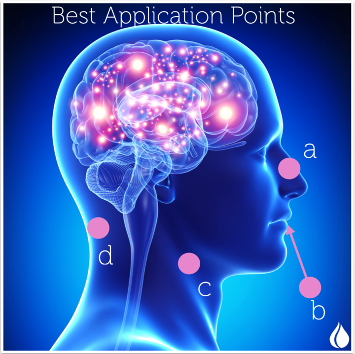 Kick start your brain with Pure Natural Essential Oils.