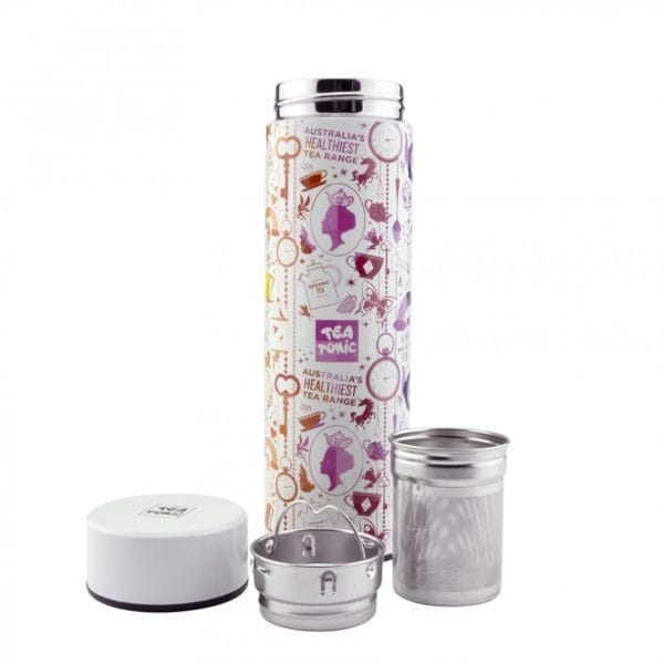 Tea Tonic Thermal Loose Leaf Tea Infuser, 450mL - Total Wellness & Secret Wishes